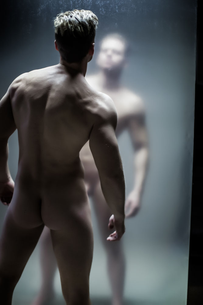 nude model asean male